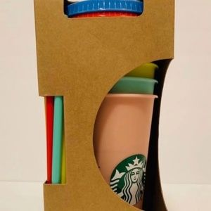 Starbucks cup set of 5